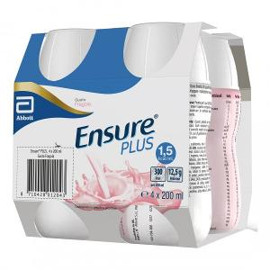 ENSURE PLUS FRAGOLA 4X200ML