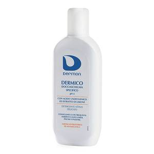ALFASIGMA SpA DERMON Dermico Detergente fluido Bagnoschiuma Ph4 250 ml