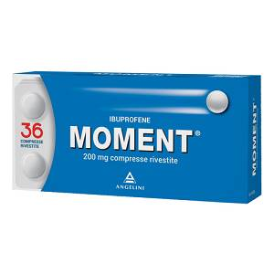 ANGELINA SpA MOMENT 200 mg IBUPROFENE 36 COMPRESSE RIVESTITE 200mg