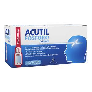 ANGELINI SpA  ACUTIL FOSFORO ADVANCE 10 flaconcini