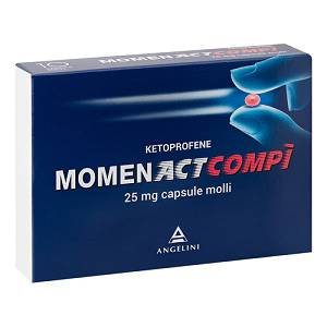ANGELINI SpA MOMENACTCOMPI 10 CAPSULE  25MG