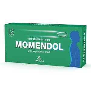ANGELINI SpA MOMENDOL 12CPS MOLLI 220MG