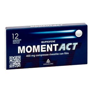 ANGELINI SpA MOMENTACT 12 compresse rivestite 400mg
