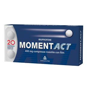 ANGELINI SpA MOMENTACT 20cpr riv. 400mg