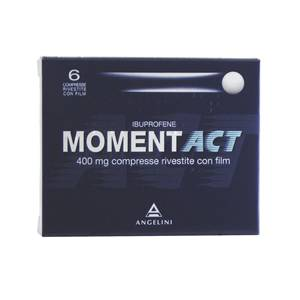 ANGELINI SpA MOMENTACT*6CPR RIV 400MG