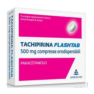 ANGELINI SpA TACHIPIRINA FLASHTAB 12COMPRESSE 250