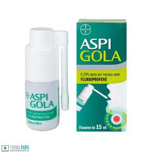 BAYER SpA  ASPI GOLA OS SPRAY 15ML 0,25%