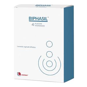 BIPHASIL Trattamento Vaginale 4 fialette 150 ml