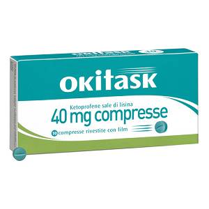DOMPE' FARMACEUTICI SpA  OKITASK 10 COMPRESSE RIVESTITE 40MG