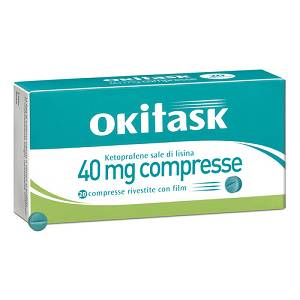 DOMPE' FARMACEUTICI SpA OKITASK 20 COMPRESSE RIVESTITE 40MG