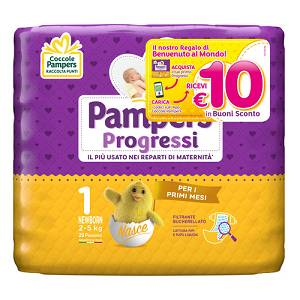 FATER SpA PAMPERS Progressi Sensitive New 28 pezzi