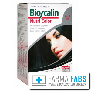 GIULIANI SpA Bioscalin  Nutricolor NERO BLU 1.11
