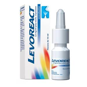Levoreact Spray Nasale 10 ml