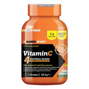 NAMEDSPORT Srl VITAMIN C 4NATURAL BLEND 90CPR