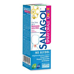 PHYTO GARDA Srl SANAGOL SPRAY JUNIOR PROPOLI FRAGOLA 20ML
