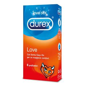 RECKITT BENCKISER H.(IT.) SpA DUREX Love 6 PEZZI